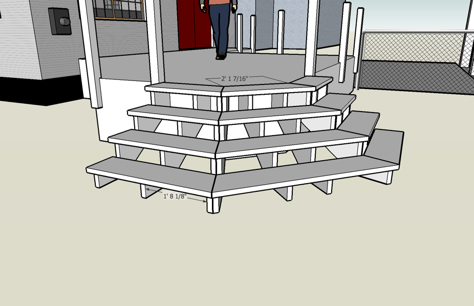 porch stair plans